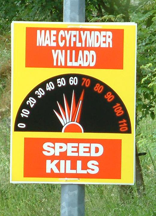 Short essay speed thrills but kills