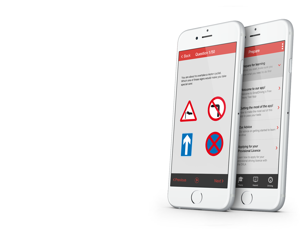 Free Road Signs Quiz App to Help You Pass Your Theory and Driving Test to download today