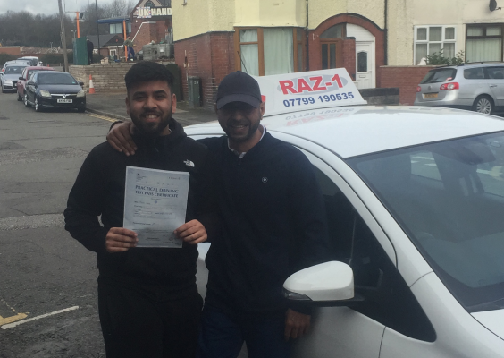 Razwan Taj SmartDriving Testimonials and reviews